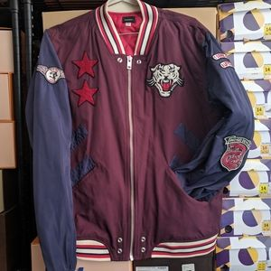 ORIGINAL PENGUIN Boys/' Padded Bomber Jacket Vintage Indigo sizes 5 6 11 12 13
